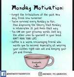 undefined - List Of 70 Best Motivational Monday Quotes / Monday Quotation ... #sweatpantsCoffeeQuotes
