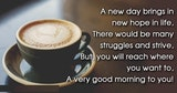 Good Morning Messages 2017 ~ Best Quotes and Sayings #sweetMorningCoffeeQuote
