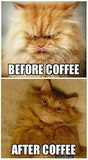 Me Before And After Coffee Quote | Coffee humor, Good morning ... #meWithoutCoffeeQuote