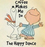 Coffee quotes coffee charlie brown snoopy good morning coffee ... #sweetMorningCoffeeQuote