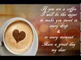 Let me wish you a sweet good morning : GOOD MORNING QUOTES ... #sweetMorningCoffeeQuote