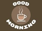 Simple good morning coffee image