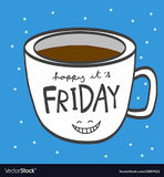 Keep it chill on Friday coffee quote meme