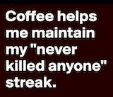 Funny coffee quotes – Thug Life Meme #iLoveCoffee