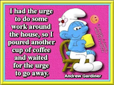 Smurf meme coffee quote. | Cartoon Coffee Quotes in 2019 | Coffee ... #iLoveCoffee