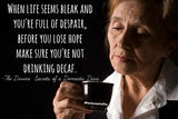 When life seems bleak and you're full of despair, before you lose ... #decafCoffee