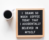 Pin by Lisa Peterson on Letter Folk | Coffee quotes, Coffee meme ... #tooMuchCoffee