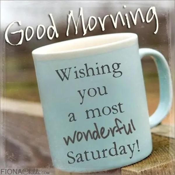 good morning Saturday! #saturdayCoffee
