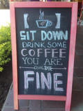 Quotes about Coffee houses (65 quotes) #funnyCoffeeShop