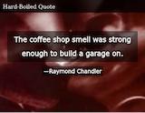 The Coffee Shop Smell Was Strong Enough to Build a Garage on ... #funnyCoffeeShop