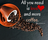 40 Funny Coffee Quotes and Sayings to Wake You Up | SayingImages.com #funnyCoffeeShop