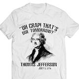 Amazon.com: Thomas-Jefferson Patriotic USA-History-Teacher Funny ... #funnyCoffeeShop