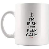 Amazon.com: Keep Calm Eat Popcorn Corn Movie Film Coffee Mug Funny ... #irishCoffee