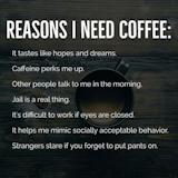 Reasons I need coffee   HaHa in 2019   Coffee humor, Good morning ... #darkCoffee