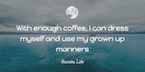 Barista Life's Top 117 Coffee Quotes #darkCoffee