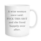 Amazon.com: Funny Coffee Mug Inspirational Quote - A Wise Woman ... #coffeeBuzz
