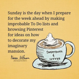 45 Inspirational Sunday Quotes and Images #coffeeBreath