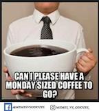 60 Best Funny Monday Meme To Start Monday / Memesvsquotes.online ... #coffeeBreath