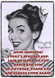 Sounds like a work day #CoffeeHumor   COFFEE, COFFEE, COFFEE ... #sarcasticCoffee