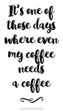 Sarcastic Coffee - 50 Funny Coffee Memes to laugh all the way to the cafe #sarcasticCoffee