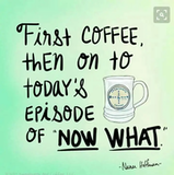 "Today's episode of ""Now what?"" Is brought to you by... 