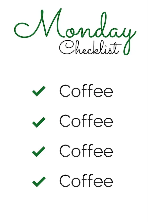 Here's some Monday morning coffee humor! | JAVA JUNKIE ... #coffeeTime