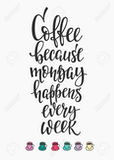 Monday happens every week #mondayCoffee
