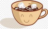 Coffee Hot chocolate Cartoon - Vector Happy Coffee png download ... #happyCoffee