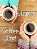 Happy Coffee - Coffee Makes You Warm! Happy Coffee Day Card   Birthday & Greeting ... #happyCoffee