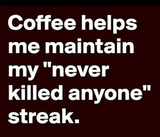 """Kristen on Twitter: """"I'm not saying I'm addicted to coffee I'm ... #coffeeAddict"""