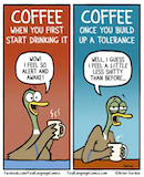 Coffee Tolerance Is A True Thing #notEnoughCoffee