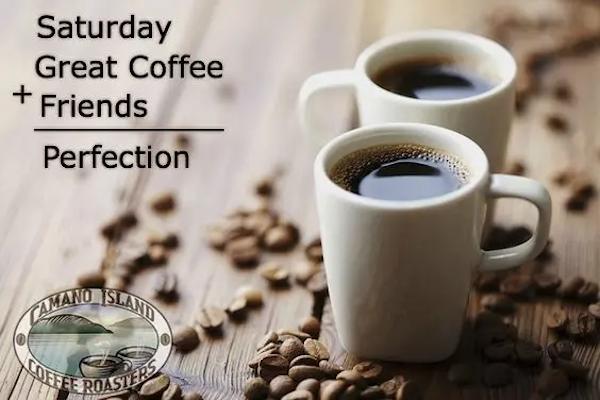 Saturday + coffee + friends = perfection #saturdayCoffee