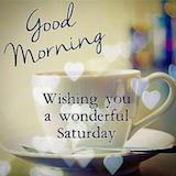 Pin by Jackie Wong on Morning quotes | Good morning saturday, Good ... #goodMorningCoffee