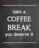 Coffee Break Time - Printable - #KraftMeACoffee | Coffee + Tea ... #coffeeTime