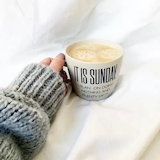 sunday morning coffee shared by Victoria  on We Heart It #sundayCoffee