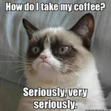 Coffee Addict - 28 Memes That Will Only Be Funny If You're Hopelessly Addicted To ... #coffeeAddict