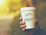 Get up. Its monday #mondayCoffee