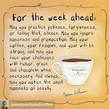 Sunday coffee week ahead | CUP-pers/Drink/Mug/quotes | Pinterest ... #sundayCoffee