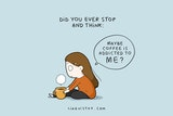 8 Cute Quotes About Coffee To Start Your Day Right | Bored Panda #mayYourCoffeeBeStrongQuote