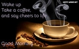 Good Morning Coffee Quotes Wishes - Coffee Mug Images #sweetMorningCoffeeQuote