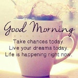 35 Good Morning Quotes With Images and Good Morning Messages ... #sweetMorningCoffeeQuote