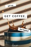 Awesome & Funny Coffee Quotes Images Ready to Be Shared #mayYourCoffeeBeStrongQuote